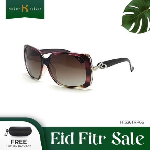 Foto Produk HELEN KELLER-Kacamata Hitam Wanita UV Protection-H1336TR-P66-Maroon dari Helen Keller Official
