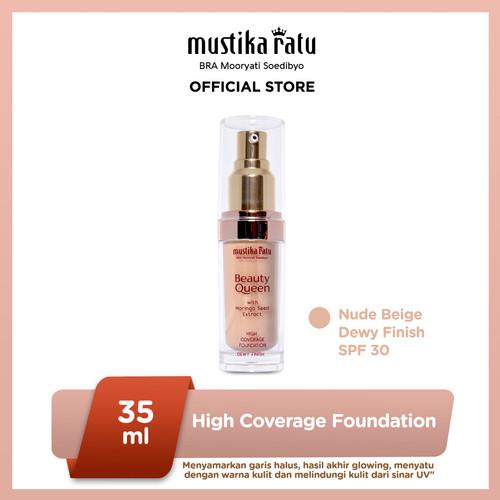 Foto Produk Mustika Ratu NudeBeige Kosmetik Wajah Foundation Dewy Finish SPF 30 dari Mustika Ratu