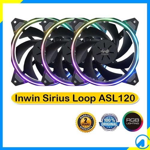 Foto Produk Inwin Sirius Loop ASL120 ARGB Triple Pack 12cm Fan dari Artica Computer