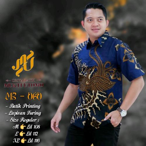 Foto Produk kemeja batik mukti utomo premium dari Jivan Batik