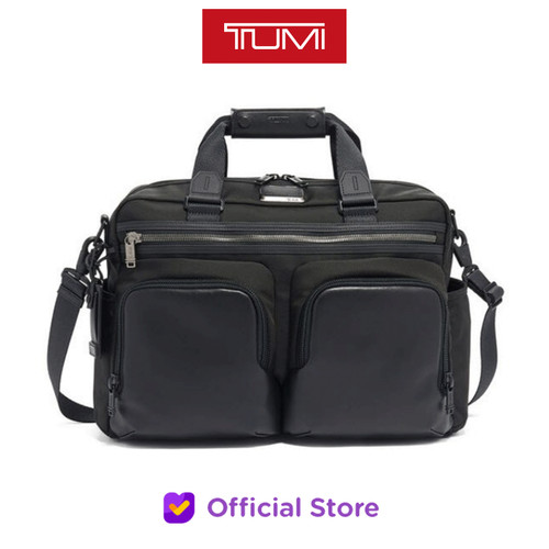 Foto Produk TUM I Alpha Bravo Hunter Satchel - Black dari NS Market Official Store