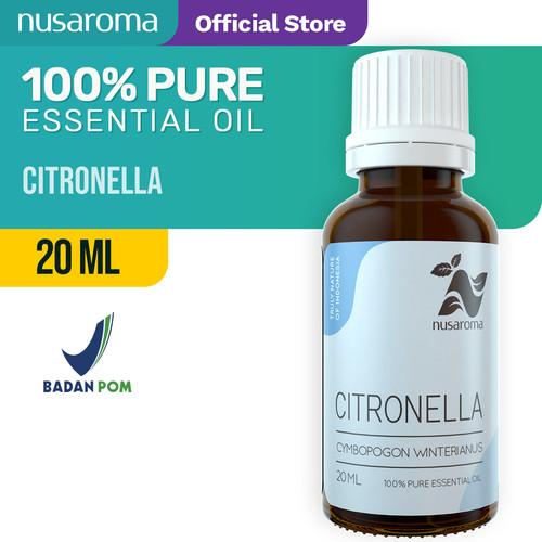 Foto Produk Nusaroma Citronella Essential Oil - 20 ML dari Nusaroma