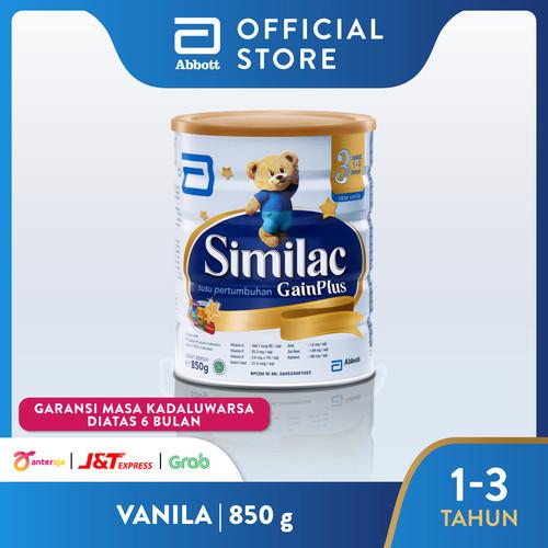 Foto Produk Similac GainPlus Vanila - 850gr dari Abbott Official Store