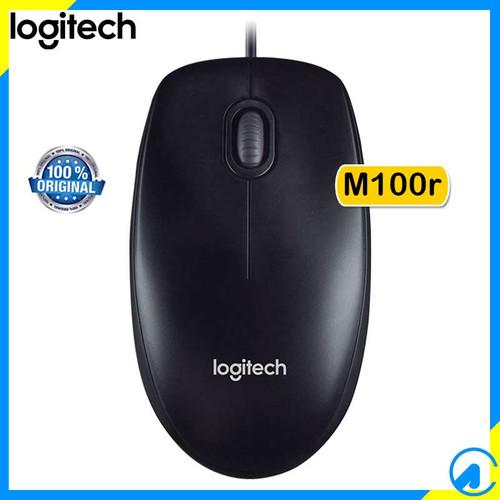 Foto Produk Logitech M100r USB Wired Kabel Mouse dari Artica Computer