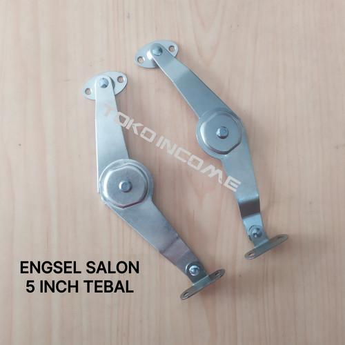"""Foto Produk Engsel Salon 5 Inch Baleno / Sikutan Pintu Jendela / Lemari 5"""" dari Toko Income"""