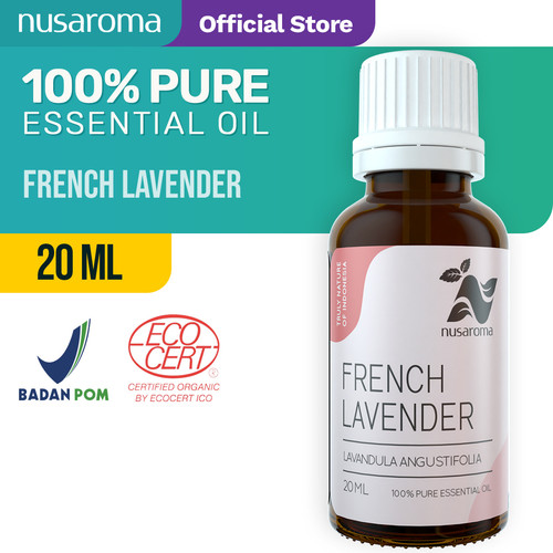 Foto Produk Nusaroma French Lavender Essential Oil - 20 ML dari Nusaroma