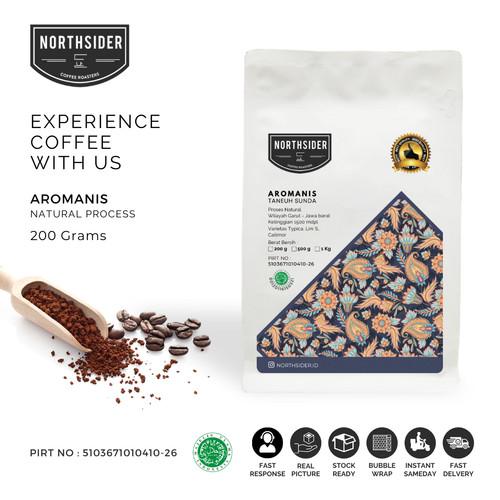 Foto Produk KOPI ARABIKA - AROMANIS ARABICA SPECIALTY COFFEE NATURAL - JAWA BARAT - BIJI KOPI dari Northsider coffee shop