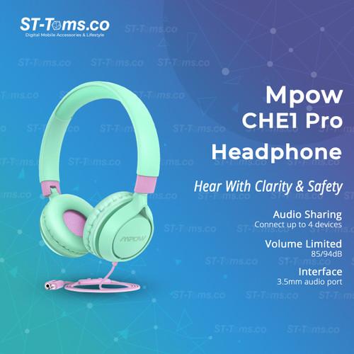 Foto Produk Mpow CHE1 Pro Kids Headphone - Hijau dari ST-Toms.co