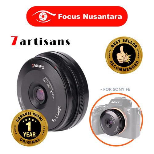 Foto Produk 7ARTISANS 35mm F5.6 Full Frame For Sony FE dari Focus Nusantara