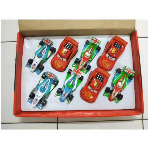 Foto Produk Mainan Cars diecast / Cars Lightning McQueen metal dari naga_toys