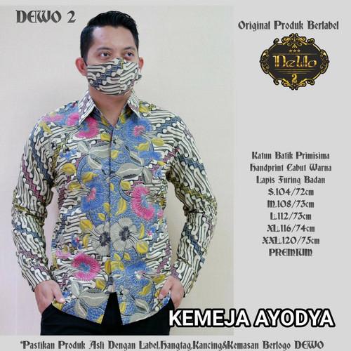 Foto Produk kemeja slimfit batik ayodya premium dari Jivan Batik