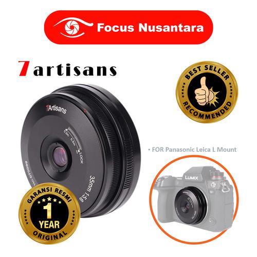 Foto Produk 7ARTISANS 35mm F5.6 Full Frame For Panasonic Leica L Mount dari Focus Nusantara