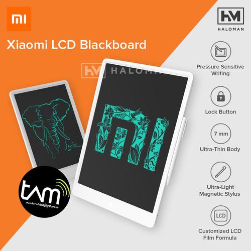 Foto Produk XIAOMI MIJIA LCD BLACKBOARD WRITING DRAWING TABLET 13.5 INCH WITH PEN - 13.5 dari haloman.id