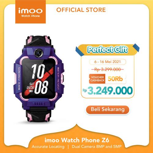 Foto Produk imoo Watch Phone Z6 - HD Video Call - Purple Lavender dari imoo Official Store