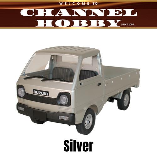 Foto Produk WPL D12 RC Car 1/10 / D12 Rc Drift Suzuki Carry Pickup / Mobil Remote - Silver dari Channel Hobby