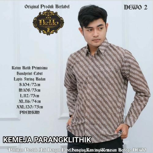 Foto Produk kemeja batik slimfit parang klithik premium dari Jivan Batik