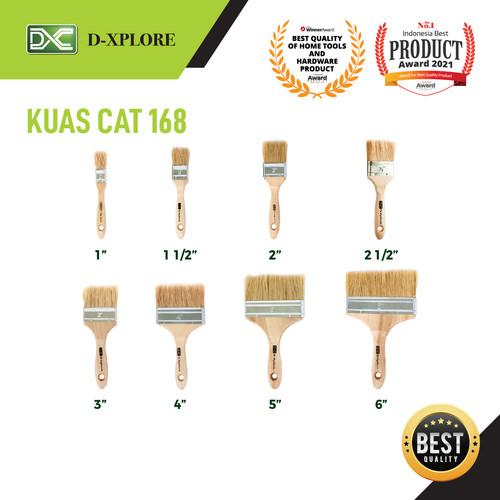Foto Produk KUAS CAT 168 D-XPLORE - 1.5 INCH dari VININDO OFFICIAL STORE