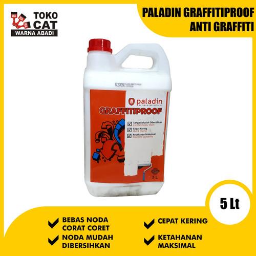 Foto Produk Cat Anti Noda Paladin Graffitiproof 5 Liter dari Toko Cat Warna Abadi