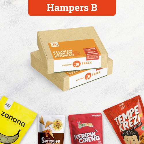 Foto Produk Hampers Konspirasi Snack B dari Zanana Official Store