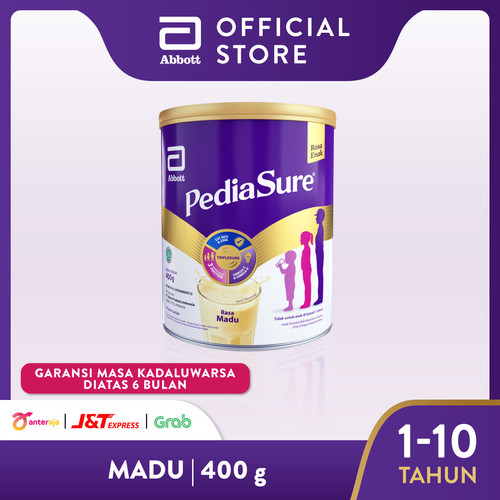 Foto Produk Pediasure Madu 400 g (1-10 tahun) Susu Formula Pertumbuhan Anak dari Abbott Official Store