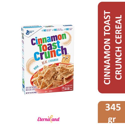Foto Produk Cinnamon Toast Crunch Cereal - sereal sarapan impor rasa cinnamon - nonpromo-12.2oz dari Eternaland