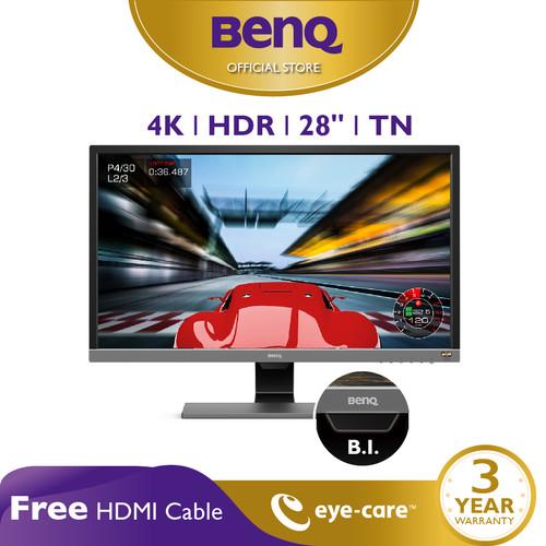 Foto Produk BenQ EL2870U 28 inch 4K UHD HDR 1ms Gaming LED Eye Care Monitor dari BenQ Official Store