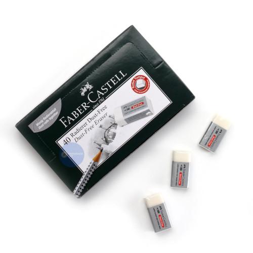 Foto Produk Penghapus Stip Faber Castell Kecil Putih ( FREE DUST ) Min. 40pcs! dari Paper Shop Jkt