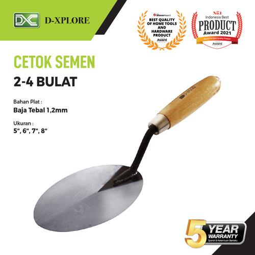 Foto Produk CETOK SEMEN 2-4 BULAT D-XPLORE - 8 INCH dari VININDO OFFICIAL STORE