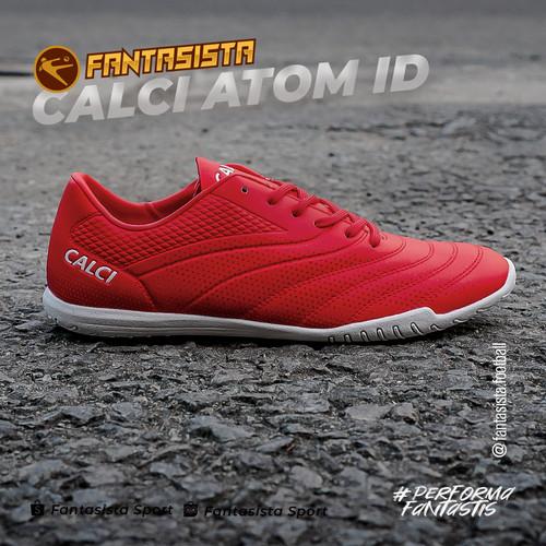 Foto Produk SEPATU FUTSAL CALCI - ATOM ID - ORIGINAL - Parprika Red, 39 dari fantasista football