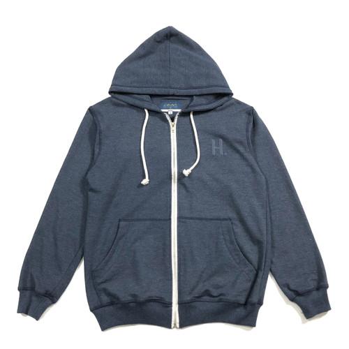 Foto Produk Hoodie Zipper Lifestyle [UNISEX] NAVY-MISTY - Navy, M dari hoodieku official