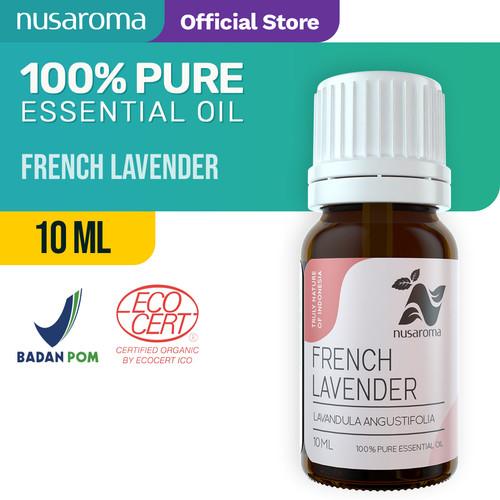 Foto Produk French Lavender Oil ( Organic ) 10 ml | 100 % Pure & Natural Essential dari Nusaroma
