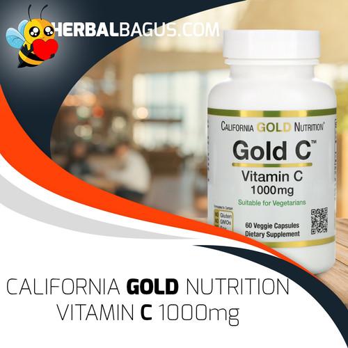 Foto Produk Vitamin C 1000mg California Gold Nutrition, Herbal Bagus Pasti ORI! dari herbalbaguscom