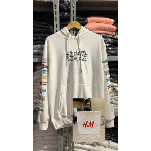 Foto Produk Hoodie H&M Star Wars White - Putih, S dari bojcompany