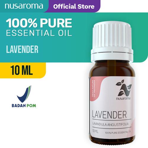 Foto Produk Lavender Essential Oil ( Minyak Lavender ) 10 ml 100% Pure & Natural dari Nusaroma