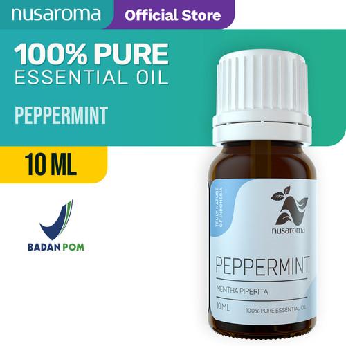 Foto Produk Peppermint Essential Oil ( Minyak Peppermint ) 10 ml | 100 % Pure dari Nusaroma