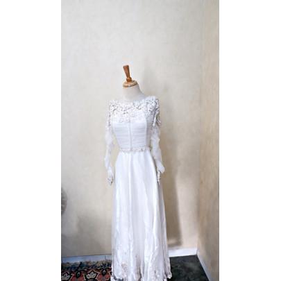Foto Produk RAMADAN SALE - Dress/Gamis/Baju Pesta/Baju Lebaran R002-02 dari jakahong studio