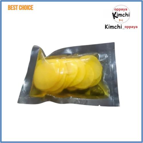 Foto Produk Danmuji Acar Lobak korea 150 gram homemade dari kimchi oppaya