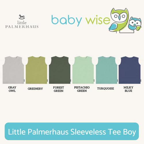 Foto Produk Little Palmerhaus Sleeveless Tee Boy - Gray Owl, 1Y dari Baby Wise