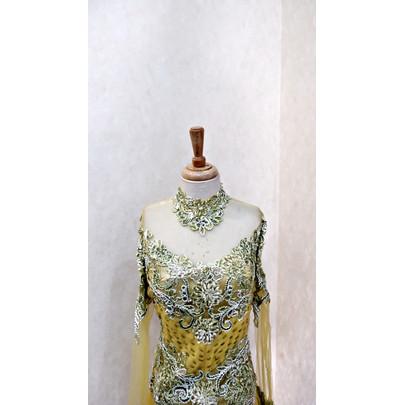Foto Produk RAMADAN SALE - Dress/Gamis/Baju Pesta/Baju Lebaran R002-05 dari jakahong studio