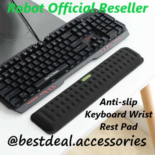 Foto Produk Robot RW01 Keyboard Wrist Rest Pad Anti-Slip Memory Foam Wristpad dari bestdeal official