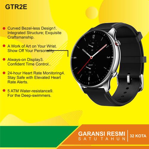 Foto Produk Amazfit GTR 2E Special Health & Ultra GTR 2E Garansi Resmi 1tahun - Hitam dari Kardel Shop