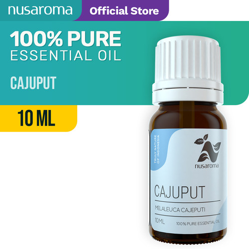 Foto Produk Cajuput Essential Oil (Minyak Kayu Putih) - 10ml | 100% Pure Natural dari Nusaroma