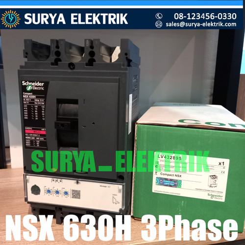 Foto Produk Mccb Schneider 3P NSX 630H NSX630H 3P 630A 630 A Amper LV432895 70kA dari SURYA-ELEKTRIK