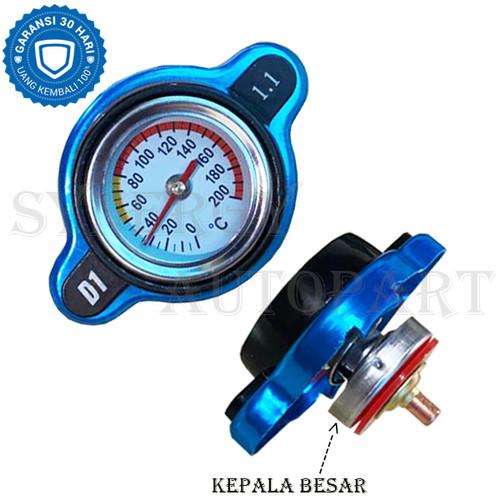 Foto Produk D1 1.1 Tutup Radiator Temperatur Indikator Suhu Universal - 10006529 - Kepala Besar dari Synergy auto parts