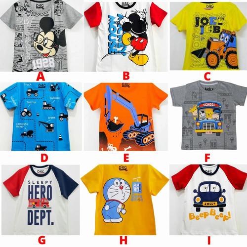 Foto Produk Baju Kaos Atasan Anak Laki Laki FULL PRINT | Kaos Anak Grosir Murah dari Posikids