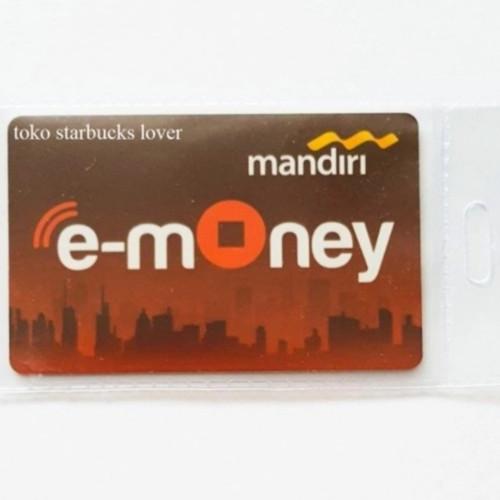 Foto Produk Kartu Emoney Etoll Mandiri Saldo 0 E-toll E-Money - Garuda dari Toko Starbucks lover