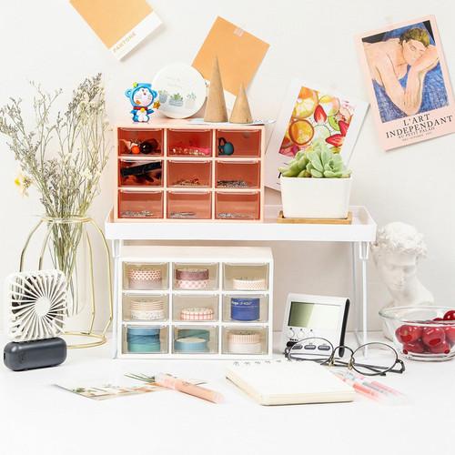 Foto Produk Minimalist 9 Drawer Desktop Cabinet - Tempat Alat Tulis dari Pinkabulous