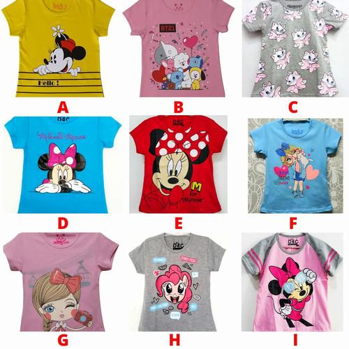 Foto Produk Kaos Anak Perempuan Lucu SIze 7-10 Tahun - 1 Tahun dari Posikids
