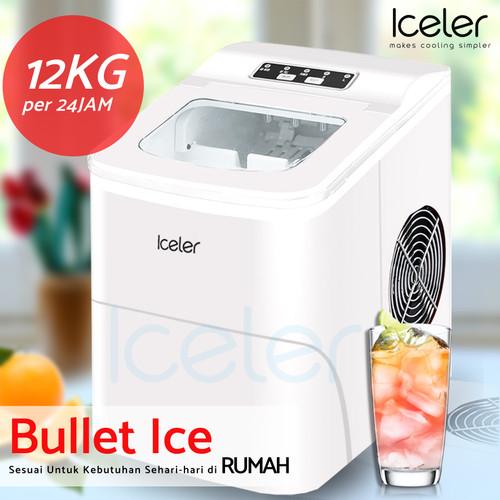 Foto Produk Mesin es Iceler 6 menit keluar es 12kg per hari ice maker - Putih dari icelermesines