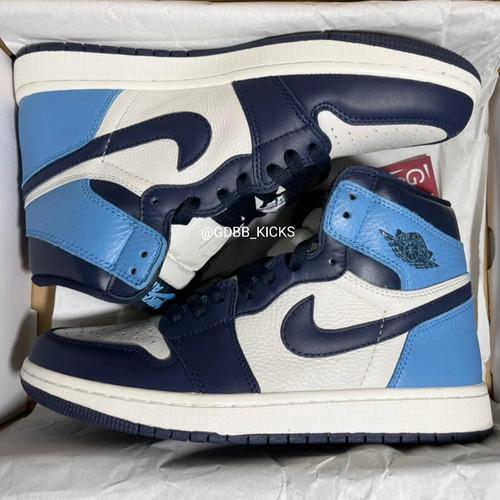 "Foto Produk ""Nike Air Jordan 1 Obsidian Blue UNC BNIB PERFECT LEATHER GUARANTEE dari Gudang Bubu"